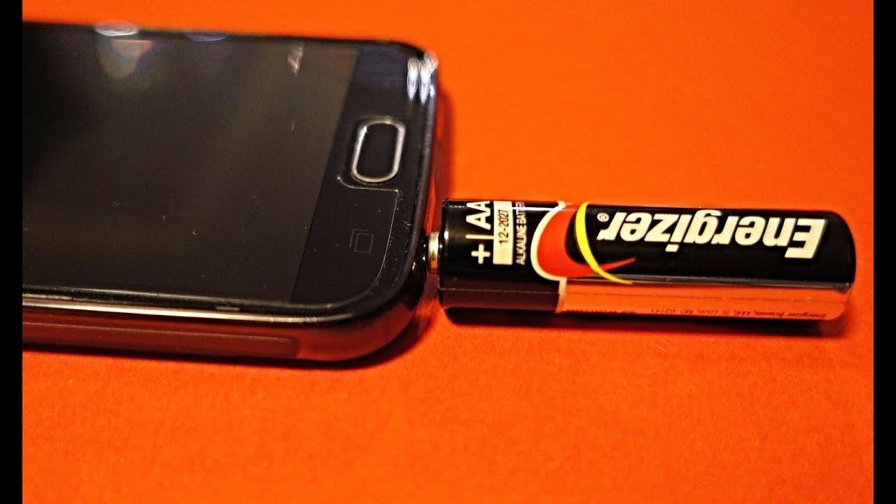 Cargar celular sin cargador