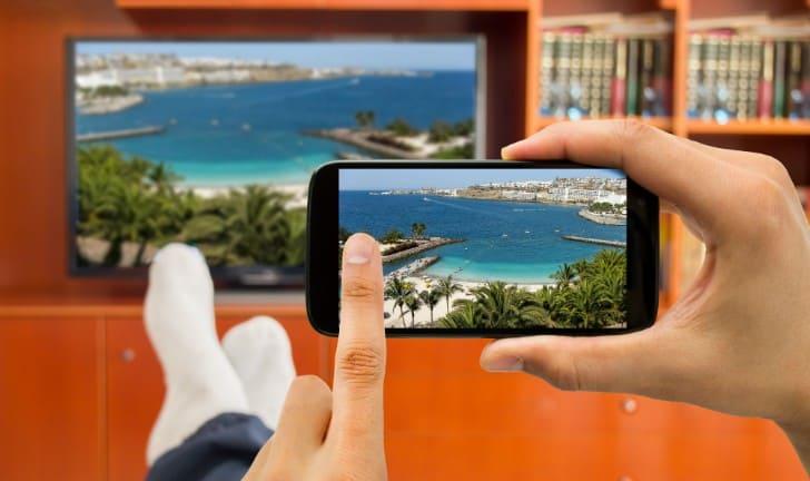 Conectar celular a televisión