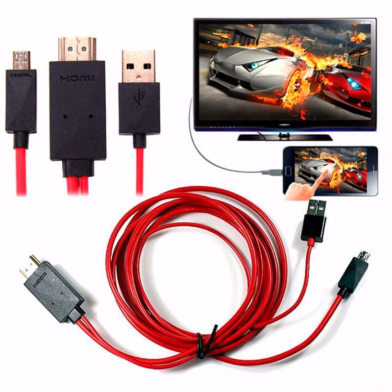 Conectar celular por HDMI