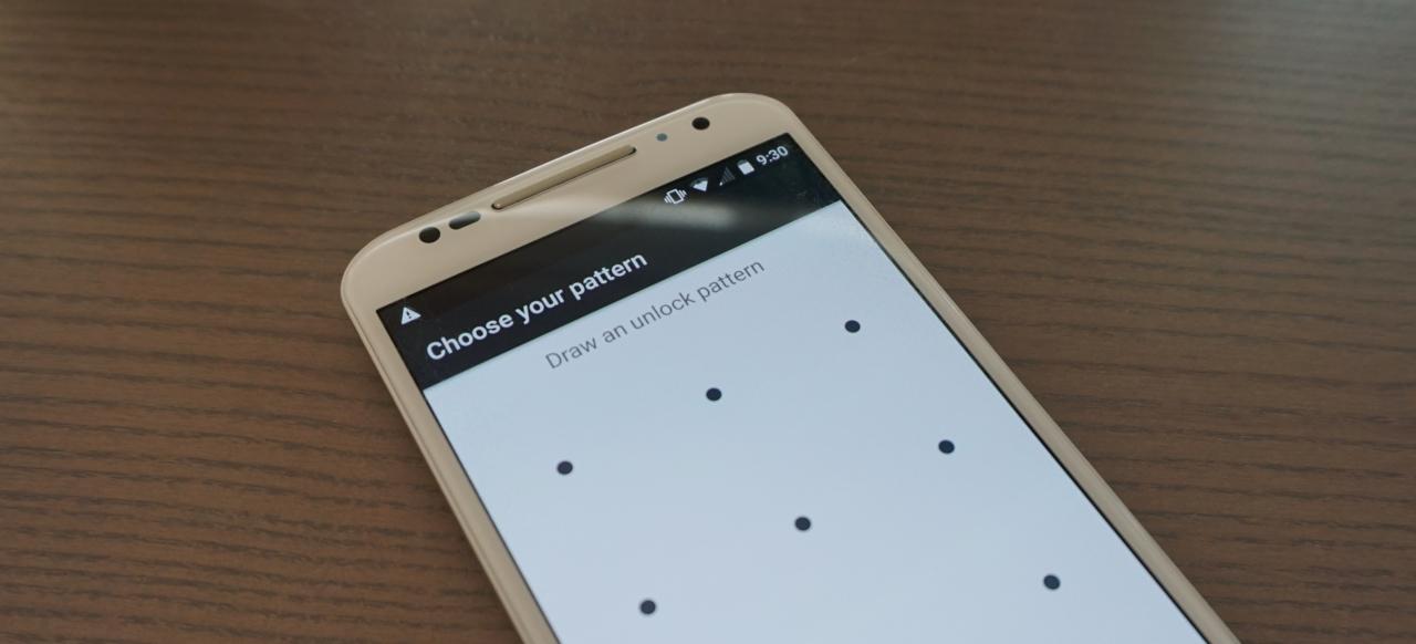 Android bloqueo por patrón